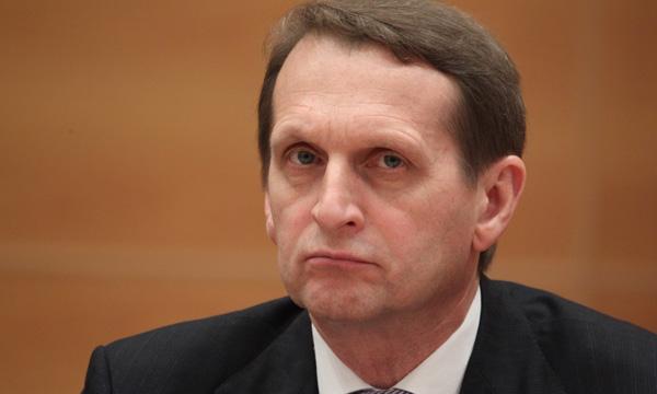 Нарышкин может покинуть пост спикера Госдумы