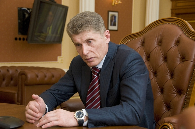 Олег Кожемяко внес предложение о переносе столицы Дальнего Востока во Владивосток 4228ba487a49590812291e09de18e437